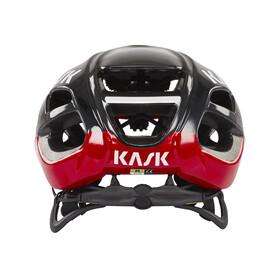 Kask Protone Helm schwarz/rot